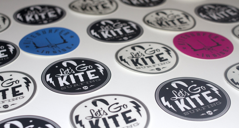 stickers kitesurf