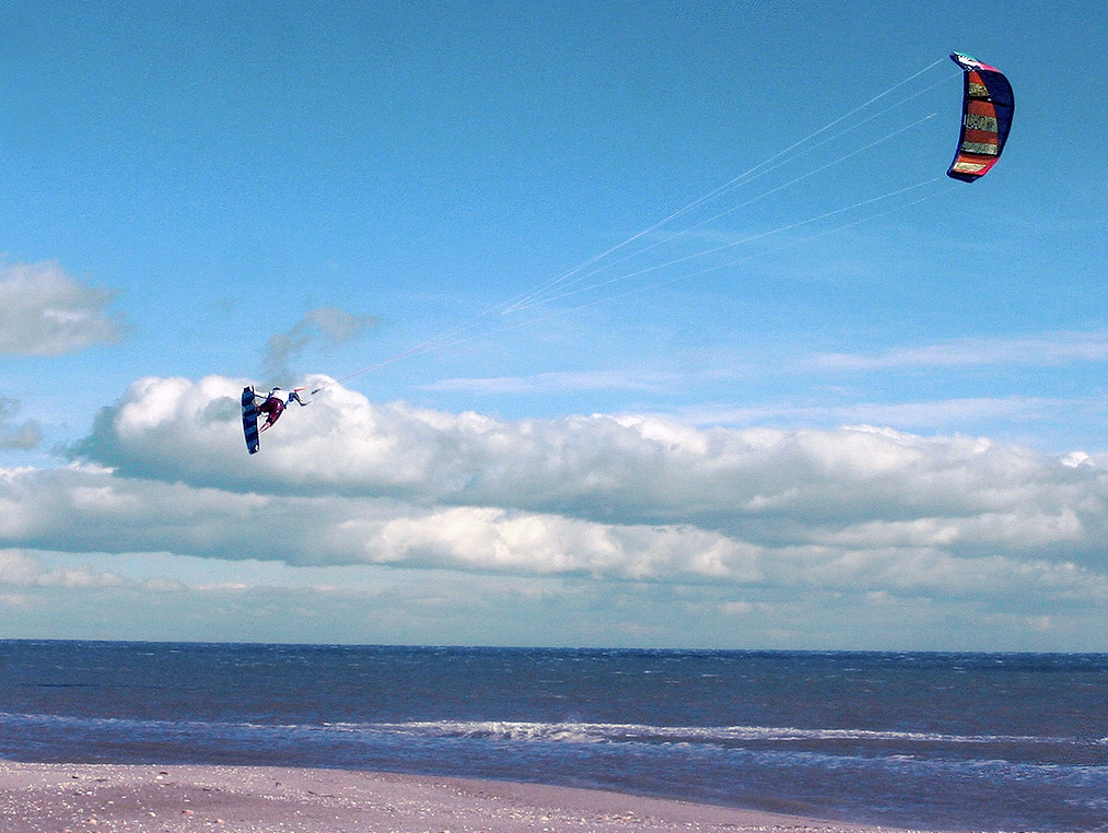 kitesurfing la Franqui