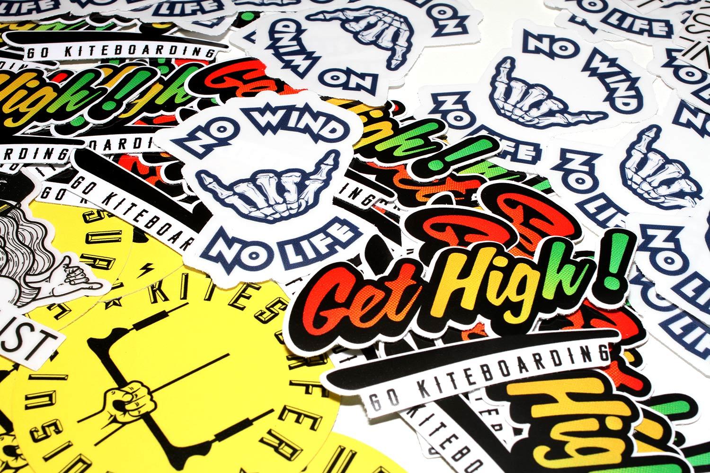 kitesurfing stickers