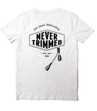 Never trimmed kitesurf