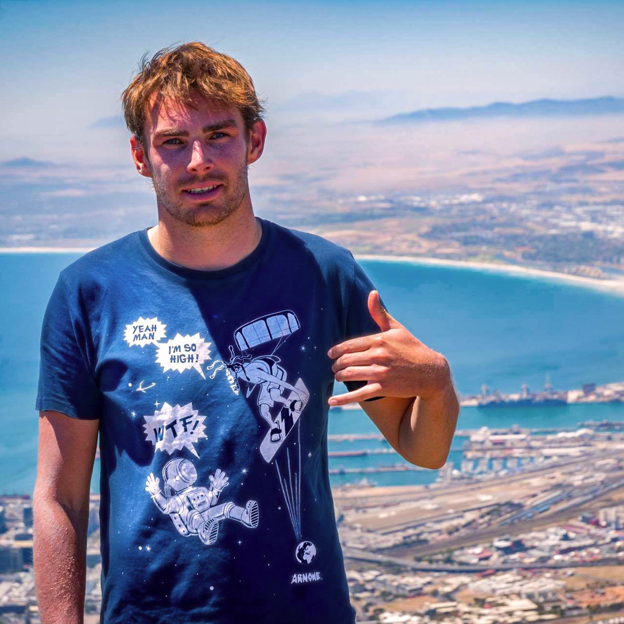 Clement Barbey kitesurf