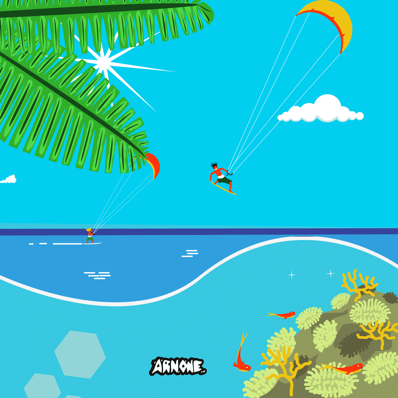 kitesurf music