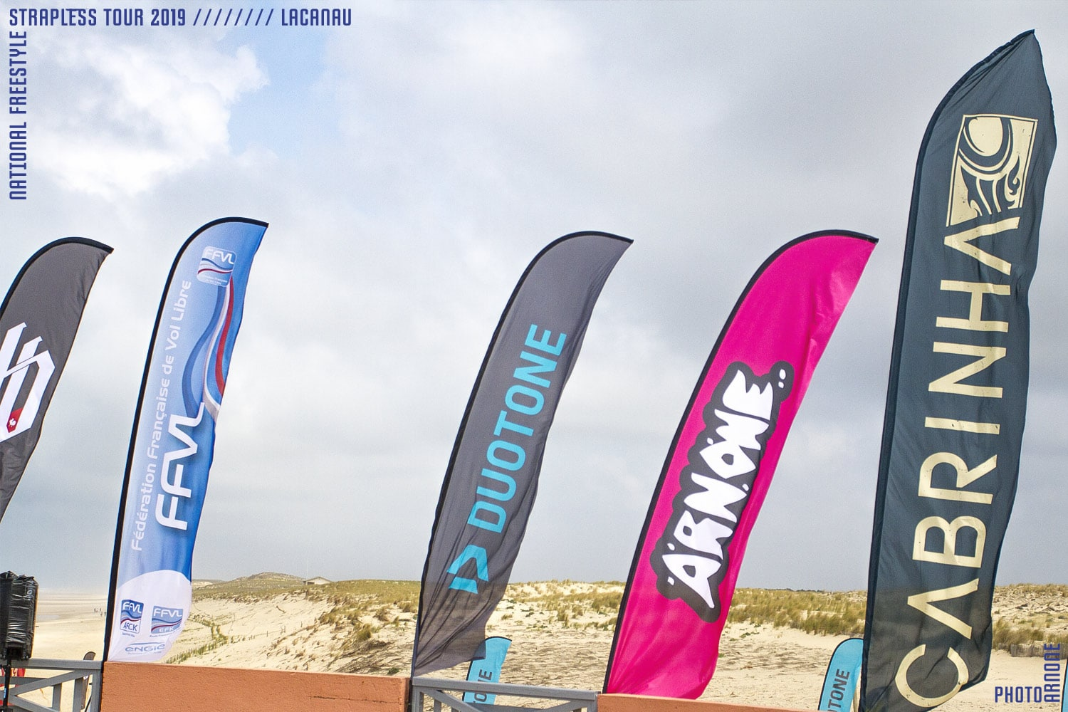 Arnone - sponsor du National Freestyle kitesurf tour