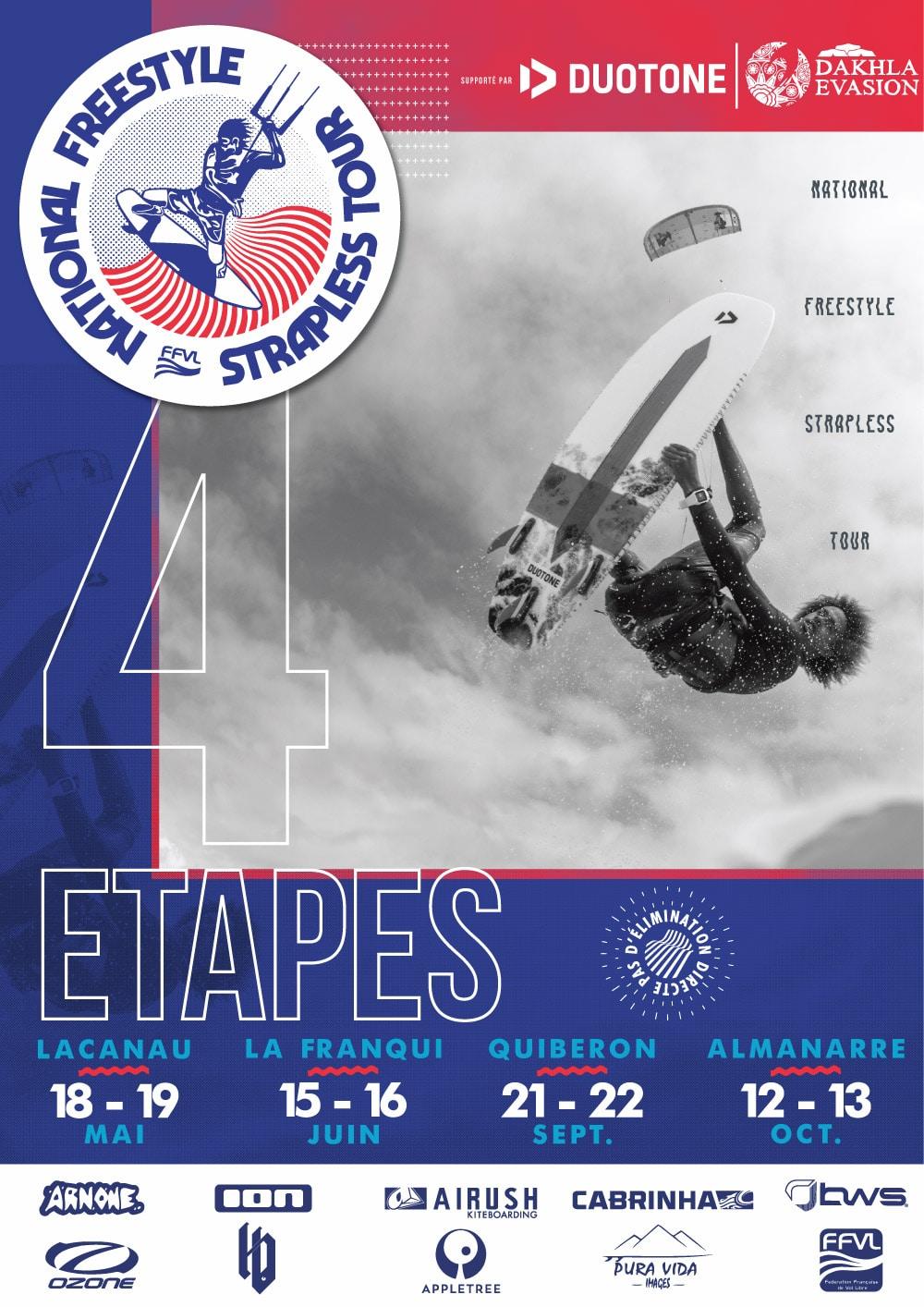 National Freestyle strapless Tour