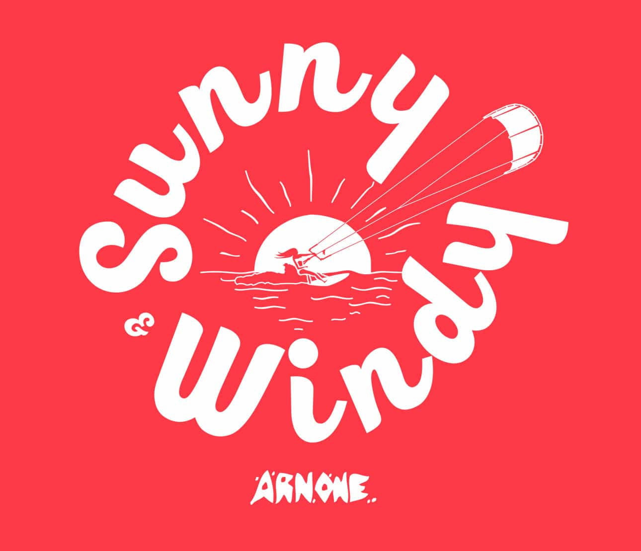 sunny windy kite