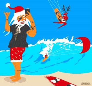 cadeau noel kitesurf
